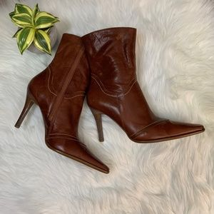 """Sexy Bronx High Heeled Leather Boot """"Storm"""""""